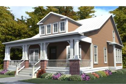 4 Bed, 3 Bath, 2253 Square Foot House Plan #1070-00255