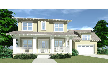3 Bed, 3 Bath, 2927 Square Foot House Plan - #028-00008