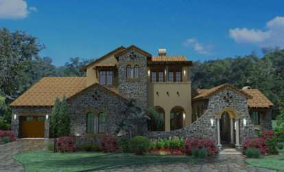 4 Bed, 3 Bath, 3691 Square Foot House Plan #9401-00020