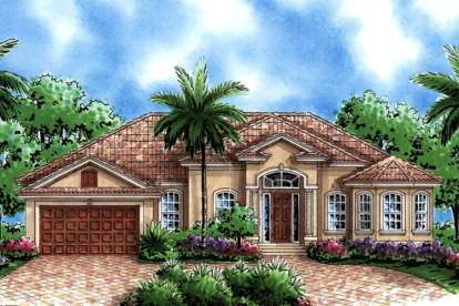 3 Bed, 2 Bath, 1786 Square Foot House Plan #1018-00006