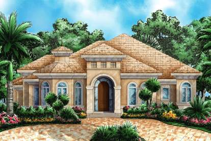 3 Bed, 3 Bath, 2746 Square Foot House Plan - #1018-00036
