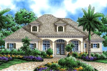 3 Bed, 3 Bath, 2855 Square Foot House Plan - #1018-00041