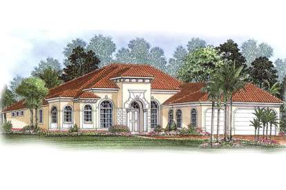 3 Bed, 2 Bath, 2885 Square Foot House Plan - #1018-00042