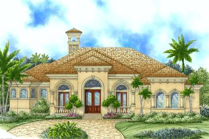 3 Bed, 3 Bath, 3043 Square Foot House Plan - #1018-00052