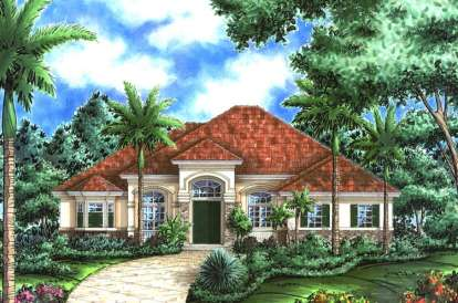 3 Bed, 3 Bath, 3089 Square Foot House Plan - #1018-00054
