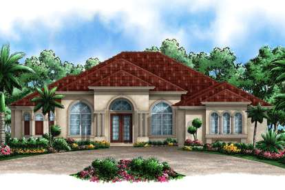 3 Bed, 3 Bath, 3137 Square Foot House Plan - #1018-00058