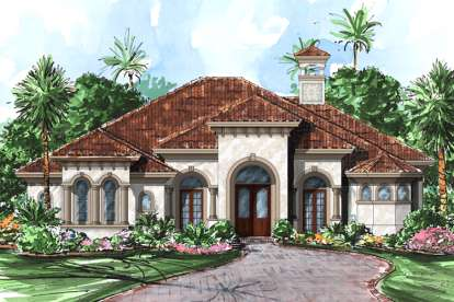 4 Bed, 4 Bath, 3274 Square Foot House Plan - #1018-00065