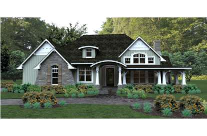 3 Bed, 3 Bath, 2267 Square Foot House Plan #9401-00030