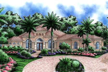 4 Bed, 4 Bath, 3698 Square Foot House Plan - #1018-00098