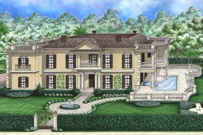 3 Bed, 3 Bath, 4143 Square Foot House Plan - #1018-00120