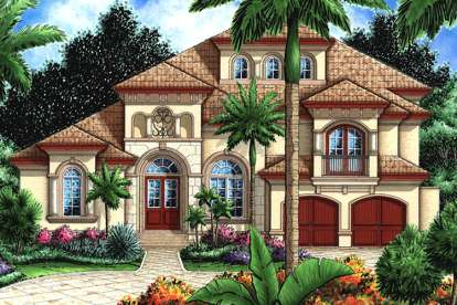 3 Bed, 4 Bath, 4198 Square Foot House Plan - #1018-00122