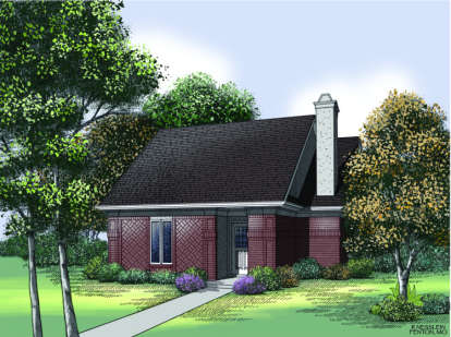 2 Bed, 2 Bath, 1410 Square Foot House Plan - #048-00049
