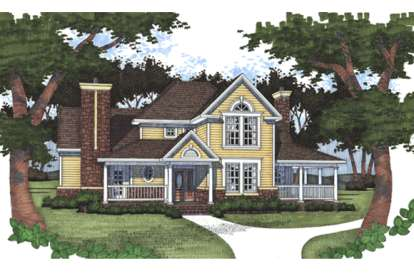 3 Bed, 2 Bath, 1972 Square Foot House Plan - #9401-00049