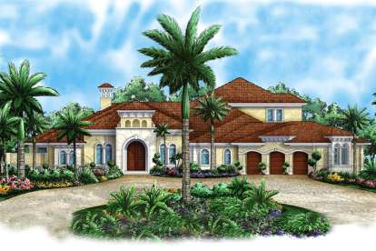 4 Bed, 4 Bath, 4953 Square Foot House Plan - #1018-00158