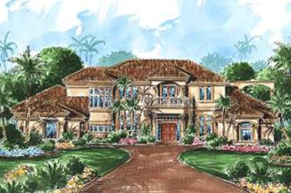 4 Bed, 5 Bath, 5223 Square Foot House Plan - #1018-00170