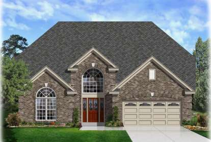 5 Bed, 3 Bath, 3243 Square Foot House Plan - #3367-00012
