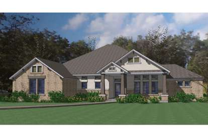 3 Bed, 2 Bath, 2695 Square Foot House Plan - #9401-00064