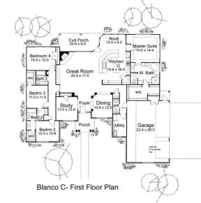 Main Floor for House Plan #9401-00070