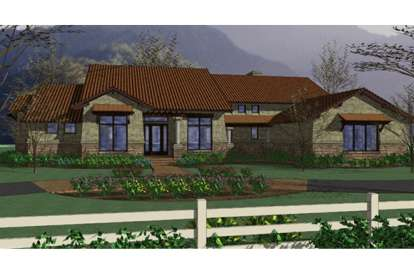 3 Bed, 3 Bath, 3024 Square Foot House Plan - #9401-00071
