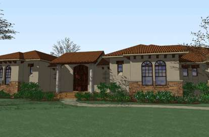 3 Bed, 3 Bath, 3355 Square Foot House Plan - #9401-00073
