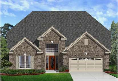 5 Bed, 3 Bath, 3243 Square Foot House Plan - #3367-00013