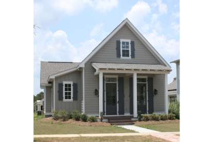3 Bed, 2 Bath, 1550 Square Foot House Plan - #041-00059