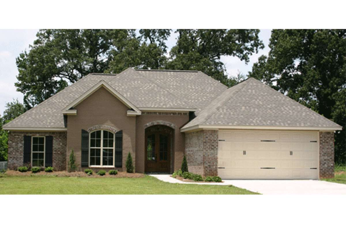 House Plan 041-00069 - Ranch Plan: 1,750 Square Feet, 4 Bedrooms, 2 on