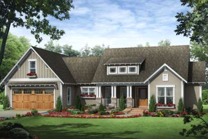 3 Bed, 2 Bath, 1818 Square Foot House Plan #348-00215