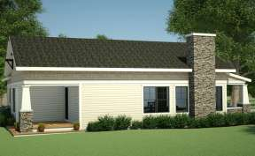 Bungalow  House Plan #7806-00013 Elevation Photo