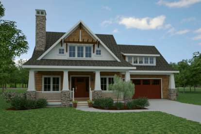 3 Bed, 3 Bath, 1902 Square Foot House Plan #7806-00014