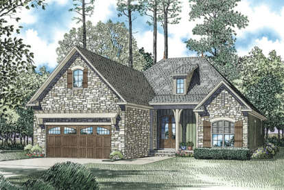 3 Bed, 2 Bath, 1572 Square Foot House Plan #110-00965