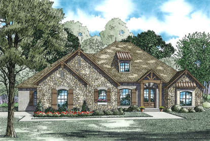 3 Bed, 3 Bath, 2998 Square Foot House Plan - #110-00969