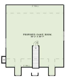 Floorplan 2 for House Plan #110-00971