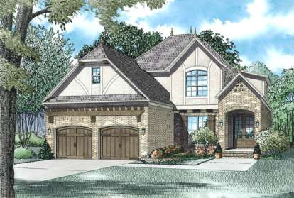 4 Bed, 3 Bath, 2454 Square Foot House Plan #110-00992