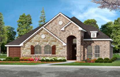 3 Bed, 3 Bath, 2706 Square Foot House Plan - #5445-00032