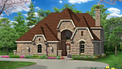 3 Bed, 3 Bath, 3965 Square Foot House Plan - #5445-00068