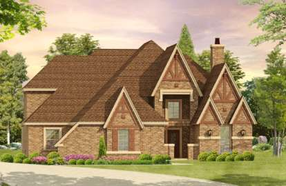 3 Bed, 3 Bath, 3965 Square Foot House Plan - #5445-00069