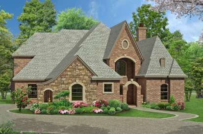 3 Bed, 3 Bath, 3965 Square Foot House Plan - #5445-00070
