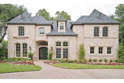 5 Bed, 5 Bath, 5327 Square Foot House Plan - #5445-00073
