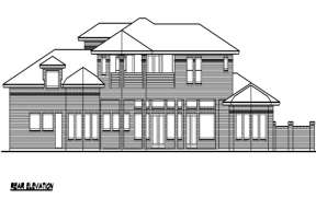 Contemporary House Plan #5445-00094 Additional Photo