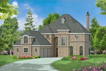 3 Bed, 3 Bath, 3988 Square Foot House Plan - #5445-00102