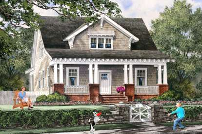 4 Bed, 3 Bath, 1907 Square Foot House Plan #7922-00219