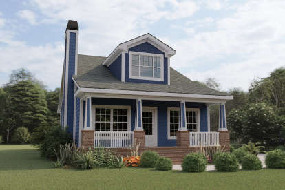 4 Bed, 3 Bath, 1853 Square Foot House Plan #009-00218