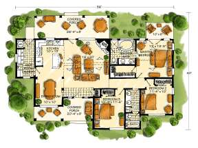 Main Floor for House Plan #1907-00004