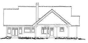 Cabin House Plan #1907-00004 Additional Photo