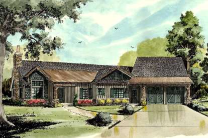 4 Bed, 3 Bath, 3050 Square Foot House Plan - #1907-00008