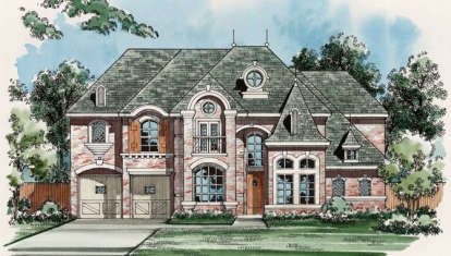3 Bed, 3 Bath, 3987 Square Foot House Plan - #5445-00150