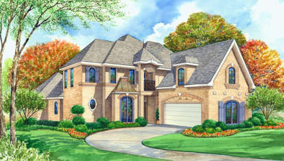 3 Bed, 4 Bath, 4024 Square Foot House Plan - #5445-00193