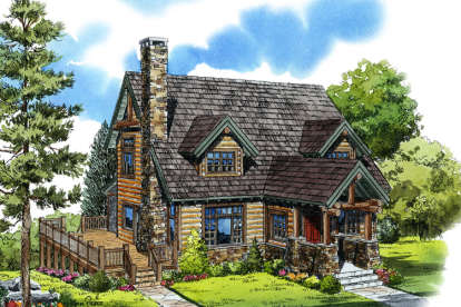 3 Bed, 3 Bath, 2049 Square Foot House Plan - #1907-00014