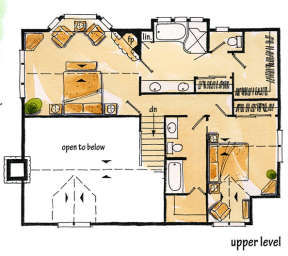 Floorplan 2 for House Plan #1907-00014